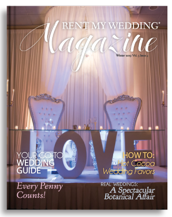 RENT MY WEDDING Magazine
